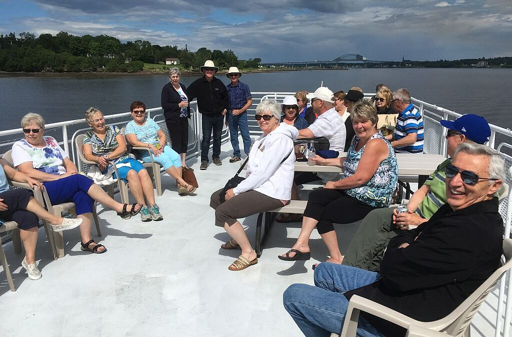 Miramichi takes a boat ride