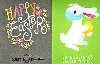 Happy Easter From MARTA Exec