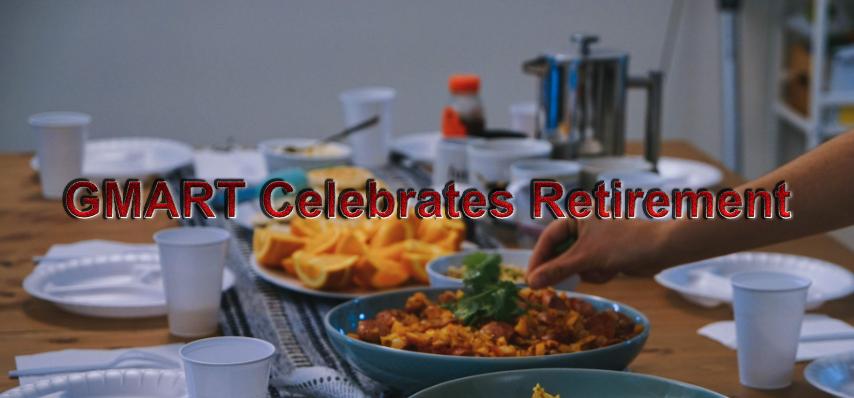 GMART Celebrates Retirement